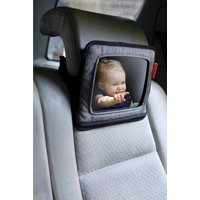 Backseat Mirror with Ipad Holder – Grey