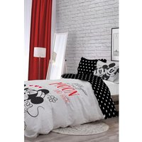 Minnie and Mickey Love You to the Moon Reversible Single Duvet Set