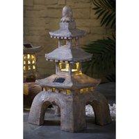 Solar Grey Pagoda Tower