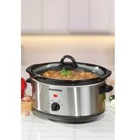 'Daewoo Stainless Steel 3.5l Slow Cooker