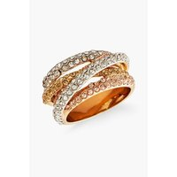 Buckley London 9ct Gold Plated Russian Sparkle Strand Ring