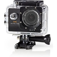 Ultra HD 4K Action Cam with Wifi and Waterproof Case.