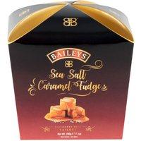 Baileys Sea Salt Fudge.