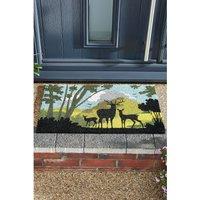 Astley Countryside Silhouette Masterpiece Coir Mat.