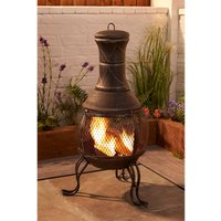 Cast Iron and Steel Chiminea