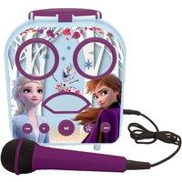 Lexibook Disney Frozen 2 My Secret Portable Karaoke with Microphone.