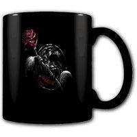 Dragon Rose Heat Change Mug.