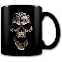 Skull Blast Heat Change Mug.