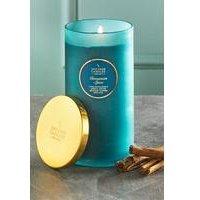 Shearer Pillar Jar Candle - Cinnamon Spice.