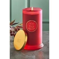 Shearer Pillar Jar Candle - Cranberry and Ginger.