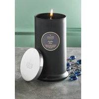 Shearer Pillar Jar Candle - Amber Noir.