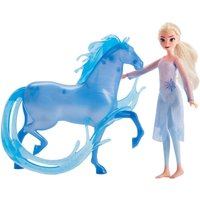 Disney Frozen 2 Elsa Fashion Doll and Nokk