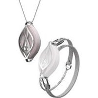 Bellabeat Leaf Crystal Wellness Tracker Jewellery.