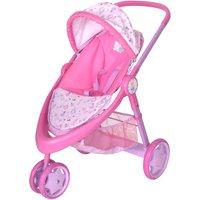 Baby Born 3 Wheel Pushchair.