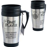 Travel Mug - Dart Player at Studio Catalogue