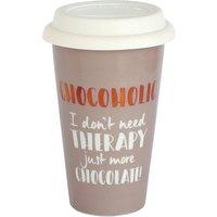 Ceramic Travel Mug - Chocoholic.