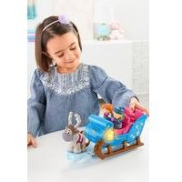Disney Frozen Kristoffs Sleigh by Little People, Figure and Vehicle Set