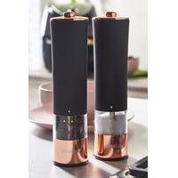 Tower Rose Gold Electric Salt and Pepper Mills.