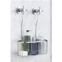 Solid Stainless Steel Hanging Shower Mixer Tap Caddy