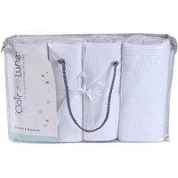 Clair de Lune 4 Piece Cot Bed Bedding Bale Gift Set