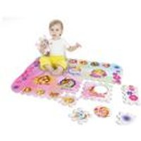 Disney Princess Team 12 Piece Floor Mat Puzzle