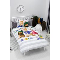 Peter Rabbit Forest Panel Reversible Duvet Set