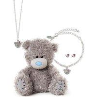 Me To You Tatty Teddy 3-Piece Jewellery and Plush Set