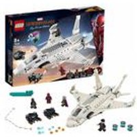 LEGO Marvel Spiderman Stark Jet and the Drone Attack