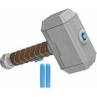Thor Hammer Strike NERF Avengers Power Moves Dart Launcher
