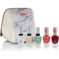 Sally Hansen Nail Polish Bundle in Cosmetics Bag