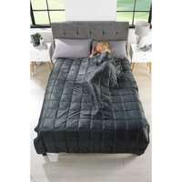 Weighted Blanket with Faux Mink Cover