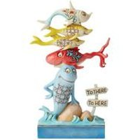 Dr Seuss by Jim Shore One Fish, Two Fish, Red Fish, Blue Fish.