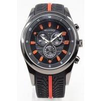 Bellfield Black Strap Watch.