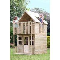 TP Toys Loft Wooden Playhouse