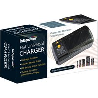 Infapower Fast Universal Battery Charger.