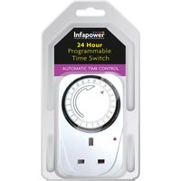 Infapower Programmable 24 Hour Switch Timer.
