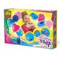 SES Creative Childrens Make Your Own Glitter Soaps Set