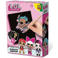 L.O.L Surprise Childrens Scratch Surprise Collectible Card Game Set.