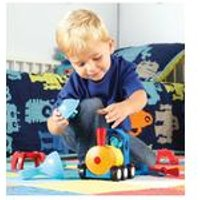 Learning Resources 1-2-3 Build It! - Rocket-Train-Helicopter