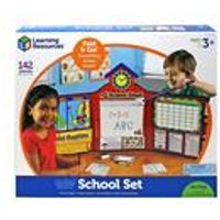 Learning Resources Pretend and Play School Set UK Version