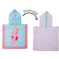 FlapJackKids Baby Cover Up - Seahorse/Narwhal.