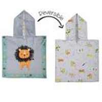 FlapJackKids Baby Cover Up - Lion/Zoo.