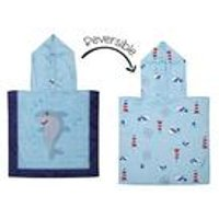 FlapJackKids Baby Cover Up - Shark/Crab/Nautical.
