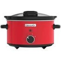 'Crock Pot 3.5 Litre Slow Cooker With Hinged Lid