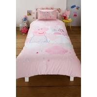 Peppa Pig Stardust Single Reversible Duvet Set