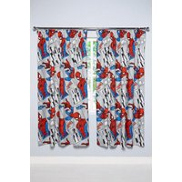 Spider-Man Pencil Pleat Curtains