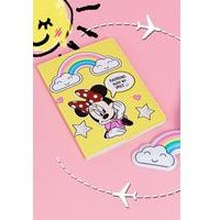 Disney Minnie Mouse Rainbow Luggage Tag and Passport Set.