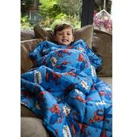 Spiderman Whoosh Weighted Blanket