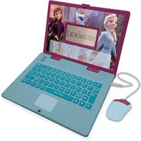 Lexibook Disney Frozen 2 Educational Laptop -124 Activities (French/English)