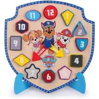 Paw Patrol Wooden Puzzle Clock.